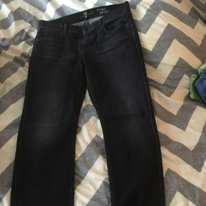 7 for all humanity black jeans